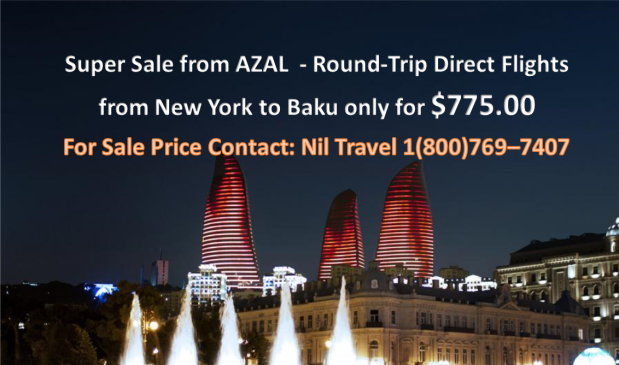 Baku - New York - Baku from Azal