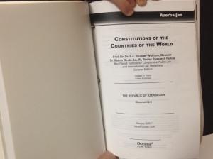 Constitution-Azerbaijan