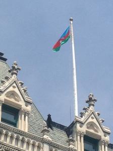 Azerbaijani Flag in CT
