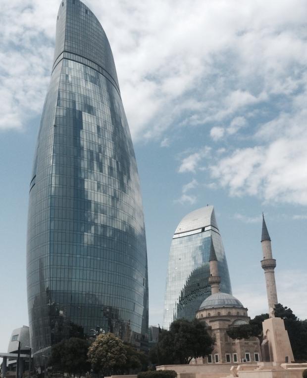 FlameTowerBakuAzerbaijan