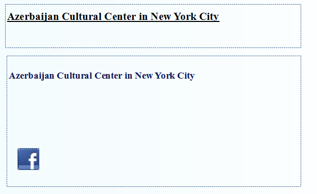 Azerbaijan Cultural Center in New York City