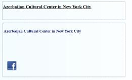 Azerbaijan Cultural Center in New York City