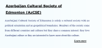 Azerbaijan Cultural Society of Edmonton