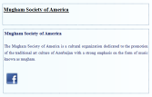 Mugham Society of America