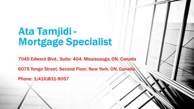 Ata Tamjidi - Mortgage Specialist