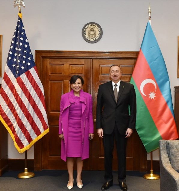 President of the Republic of Azerbaijan Ilham Aliyev has met with the United States Secretary of Commerce Penny Pritzker