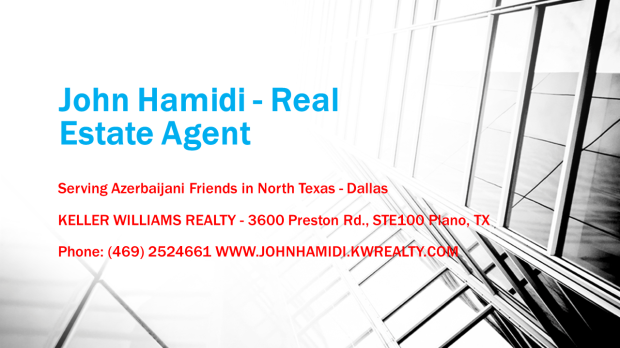John Hamidi - Real Estate Agent
