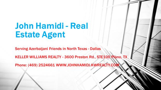 John Hamidi - Real Estate Agent