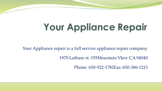 Your Appliance Repair2