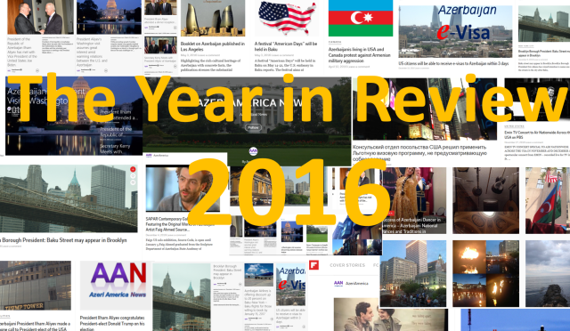 The Year in Review 2016