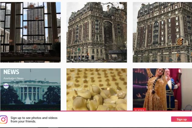 AzeriAmerica on instagram