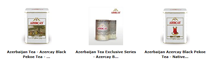 Azerbaijani and Turkish Products on Amazon
