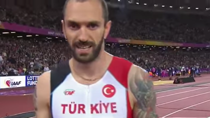 Azerbaijani athlete ramil guliyev representing turkey for Azerbaijani cuisine london